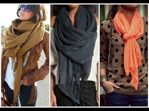 10 Maneras Simples De Usar Tus bufandas Pashmina