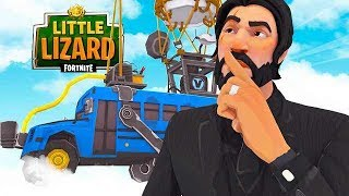 The SECRETS IN the FORTNITE BATTLE BUS!