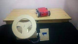 How to make smart rc car with steering wheel remote | Homemade 4WD rc car