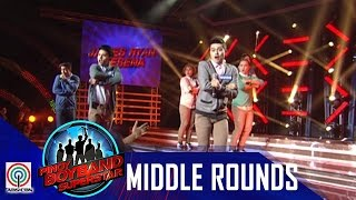 Pinoy Boyband Superstar Middle Rounds: Miko, James, Guion, Tristan & Twinkabogable -