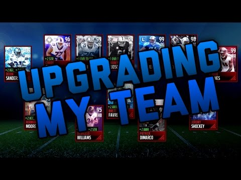 Upgrading My Team With 11 Million Coins BEST TEAM EVER Madden Mobile 17