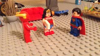 Lego Justice League episode 4 the kiss