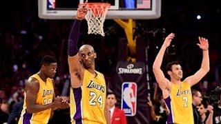 Kobe Bryant Drops 60 in Final Game of Career!!