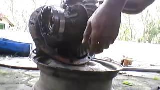 Cara memasang gigi gardan /differential