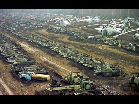 Old Abandoned Russian Military Bases and
