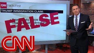 Chris Cuomo fact-checks Trump