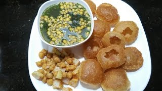 Atta ke Golgappe with puddina pani for beginners by Somyaskitchen/Panipuri/tasty n chatpati#167