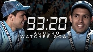 AGUERO WATCHES QPR GOAL BACK FOR FIRST TIME | 93:20 Rewind