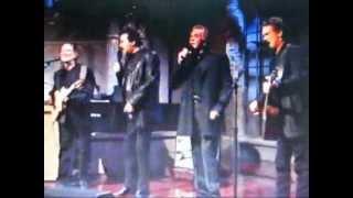 Waylon Jennings  Willie Nelson Highwaymen on Letterman