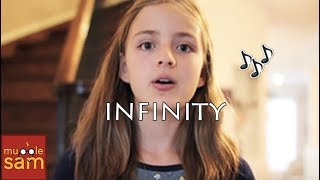 FOR CALEB BRATAYLEY - INFINITY - ONE DIRECTION Cover by 12-Year-Old Sophia Mugglesam
