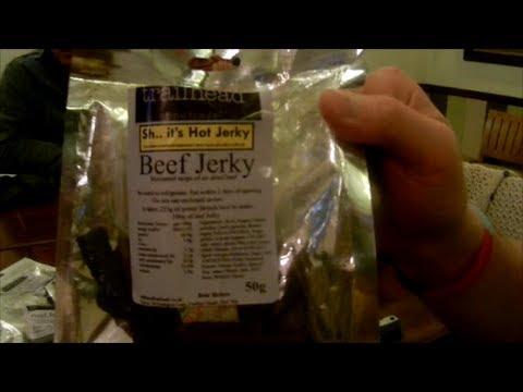 XXX Naga Jolokia Beef Jerky Review. Made by trailhead fine foods