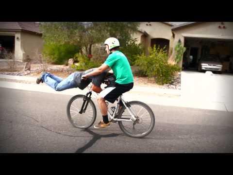 Two guy ONE... Bike