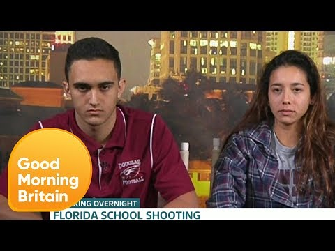 Classmates of Florida Shooter Say They Suspected Him Good Morning Britain