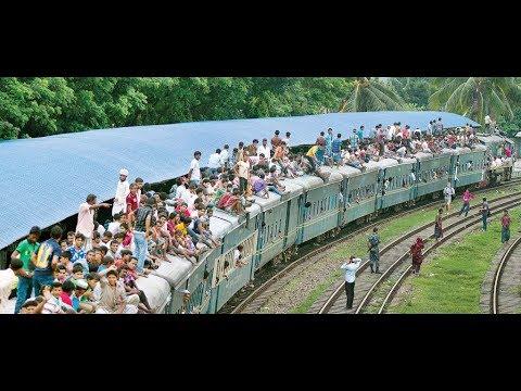 বাস-ট্রেন-লঞ্চ টার্মিনালে ঘরমুখী মানুষের ঢল | Eid Vacation Bangladesh