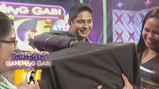 "GGV: Coco Martin plays ""Hipuin Mo Ko Baby"" Challenge"