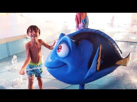 Water Fun Play Disney Nemo s Reef Slide