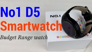 Hindi | No1 D5 Smartwatch Unboxing & Review | Heartrate | Sharmaji Technical