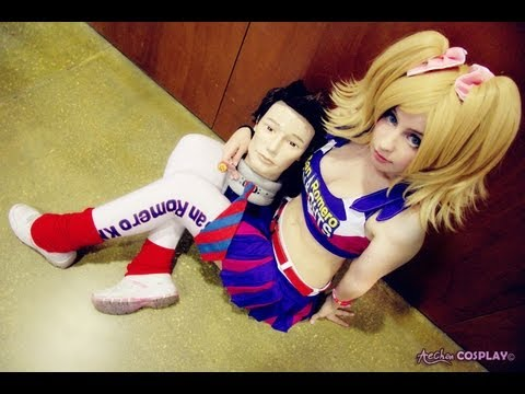 Xxx Mp4 Juliet Starling Lollipop Chainsaw Cosplay Individual Salón Manga De Murcia IV 3gp Sex