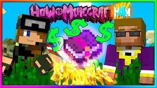 Minecraft - GOTTA SPEND SOME MONEY!   Episode 107 of H4M (How to Minecraft Season 4)