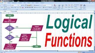 Excel magic trick 39 bangla - Logical Functions
