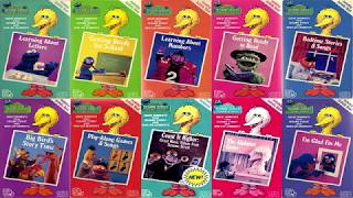 My Favorite Sesame Street Classic VHS