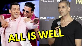 Akshay Kumar REACTS On Salman Khan Backing Out From KESARI With Karan Johar