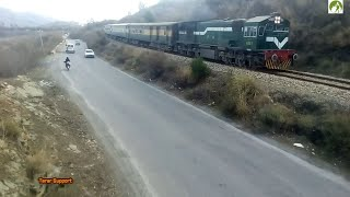 Traveling KPK by Train Peshawar to Rawalpindi Train Route Journey Documentary 2018