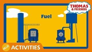 Thomas & Friends UK: Steam Engines Vs Diesel Engines
