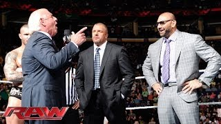 Ric Flair addresses Evolution and The Shield: Raw, April 28, 2014