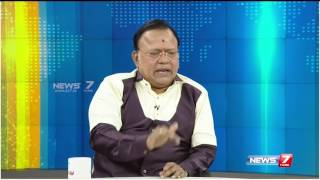Rajnikanth will not enter politics says Radharavi | News7 Tamil