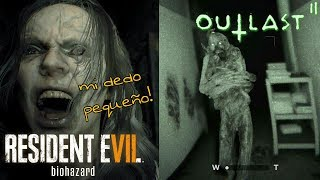Outlast 2 vs Resident Evil 7 - Cuál da más miedo?!