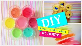 DIY - How to Make Paint at Home - easy tutorial