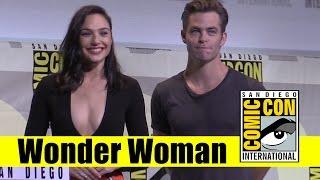 Wonder Woman | 2016 Comic Con Full Panel (Gal Gadot, Chris Pine)