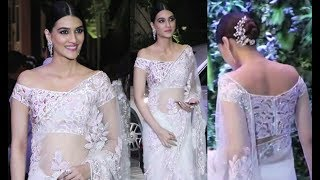 Kriti Sanon At Virat Anushka Reception Mumbai
