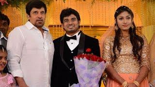 Mansoor Ali Khan's Daughter Wedding Reception | Vijayakanth | Vishal | Vikram - BW