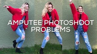 A Day In My Life as an Amputee   Come to a Photoshoot with Me!