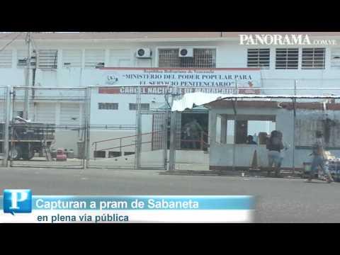 Pram de la cárcel de Sabaneta capturado en Maracaibo estaba con otros dos reos
