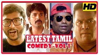 Latest Tamil Comedy Scenes   Vol 1   Sema   Velaikkaran   Bhaskar Oru Rascal   Tamil Comedy