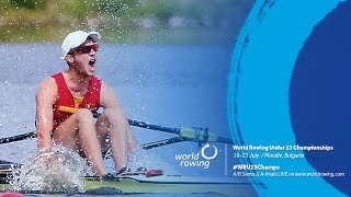 2017 World Rowing Under 23 Championships - A Finals (22 July)