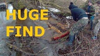 Magnet fishing, biggest find ever!