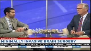 Minimally Invasive Brain Surgery - Dr. Amjad Anaizi's interview on NC8 Midday