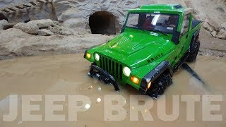 ANZAKA 4X4 OFF Road JEEP BRUTE - MUD, WATER, ROCK TRAIL (INDOOR TRAIL TRACK)