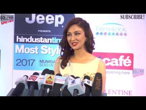 Bhabhi Ji Ghar Par Hai Actress Saumya Tandon Hot At HT Most Stylish Awards 2017