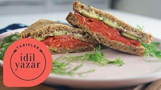 Füme Somonlu Sandviç Tarifi - İdil Tatari - Yemek Tarifleri