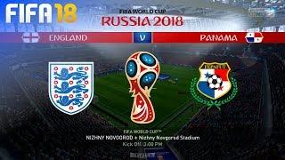 FIFA 18 World Cup - England vs. Panama @ Nizhny Novgorod Stadium (Group G)