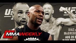 Floyd Mayweather on Conor McGregor vs Paulie Malignaggi Knockdown