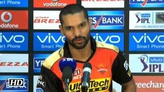 IPL9 SRH vs MI: Shikhar Dhawan praises Yuvraj Singh & Mustafizur Rahman