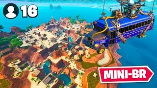 *NEW* 16 Player MINI BATTLE ROYALE In Fortnite