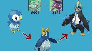 Pokémon: How to Evolve - All Evolution Lines (Generation 1-5)*