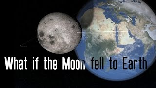 WHAT IF THE MOON FELL TO EARTH